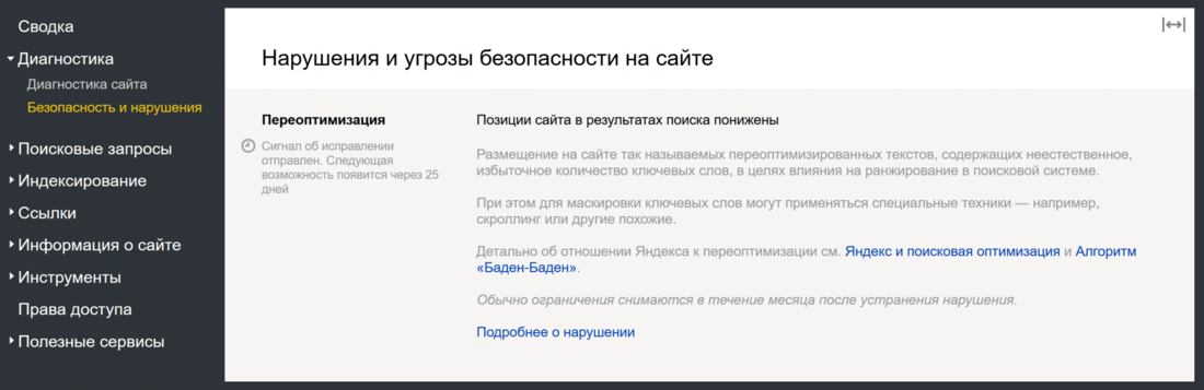Фильтры поисковых систем Yandex и Google